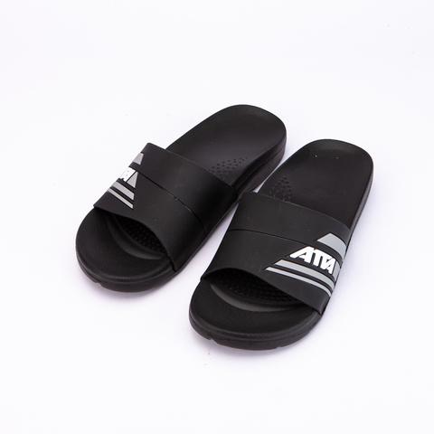 ATTA人體工學減壓足弓防滑拖鞋-黑(27)
