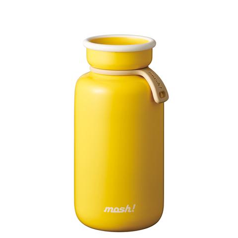 *Doshisha撞色系列保溫瓶450ml-黃