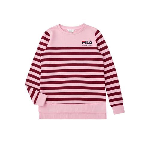 FILA 女圓領T恤-粉紅 5TEU-5474-PK