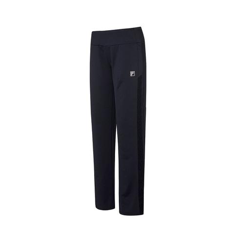 FILA 針織長褲-黑色 5PNV-1609-BK