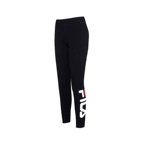 FILA 合身針織長褲-黑色 5PNU-5237-BK