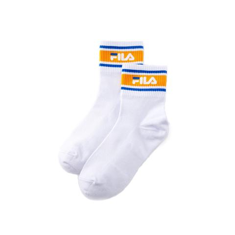 FILA 基本款薄底短襪-芥末黃 SCV-1002-MD