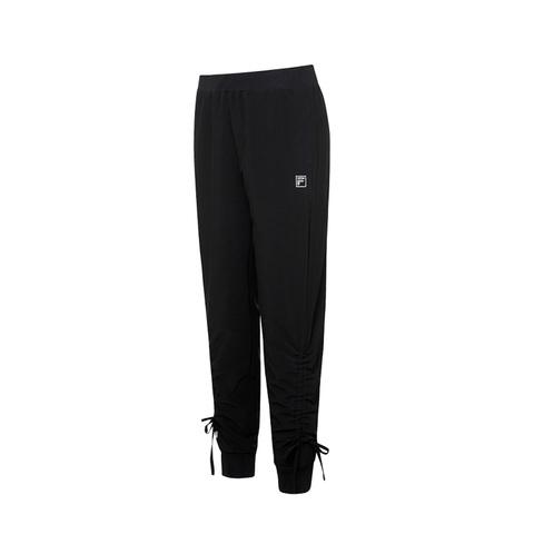 FILA 平織長褲-黑色 5PNV-1610-BK