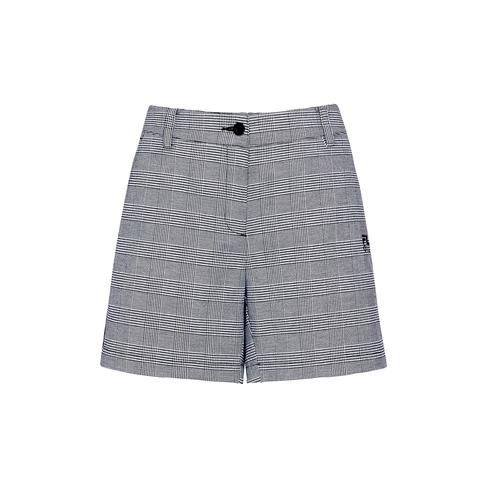 FILA GOLF 女平織短褲-黑 5SHU-6108-BK