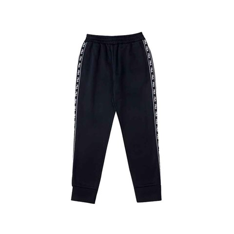 FILA KIDS 內刷長褲(合身版)-黑色 5PNU-8441-BK