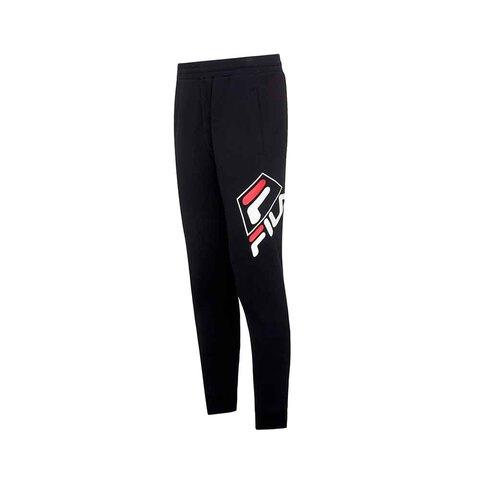 FILA 針織長褲-黑色 1PNU-5454-BK