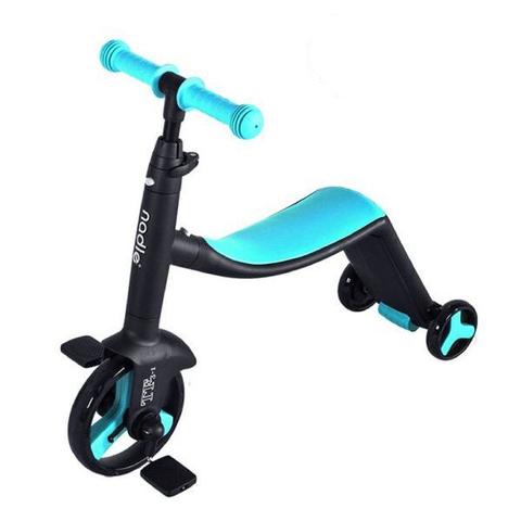 奧地利 Nadle 三合一多功能三輪滑步車/滑板車/三輪車(藍色)