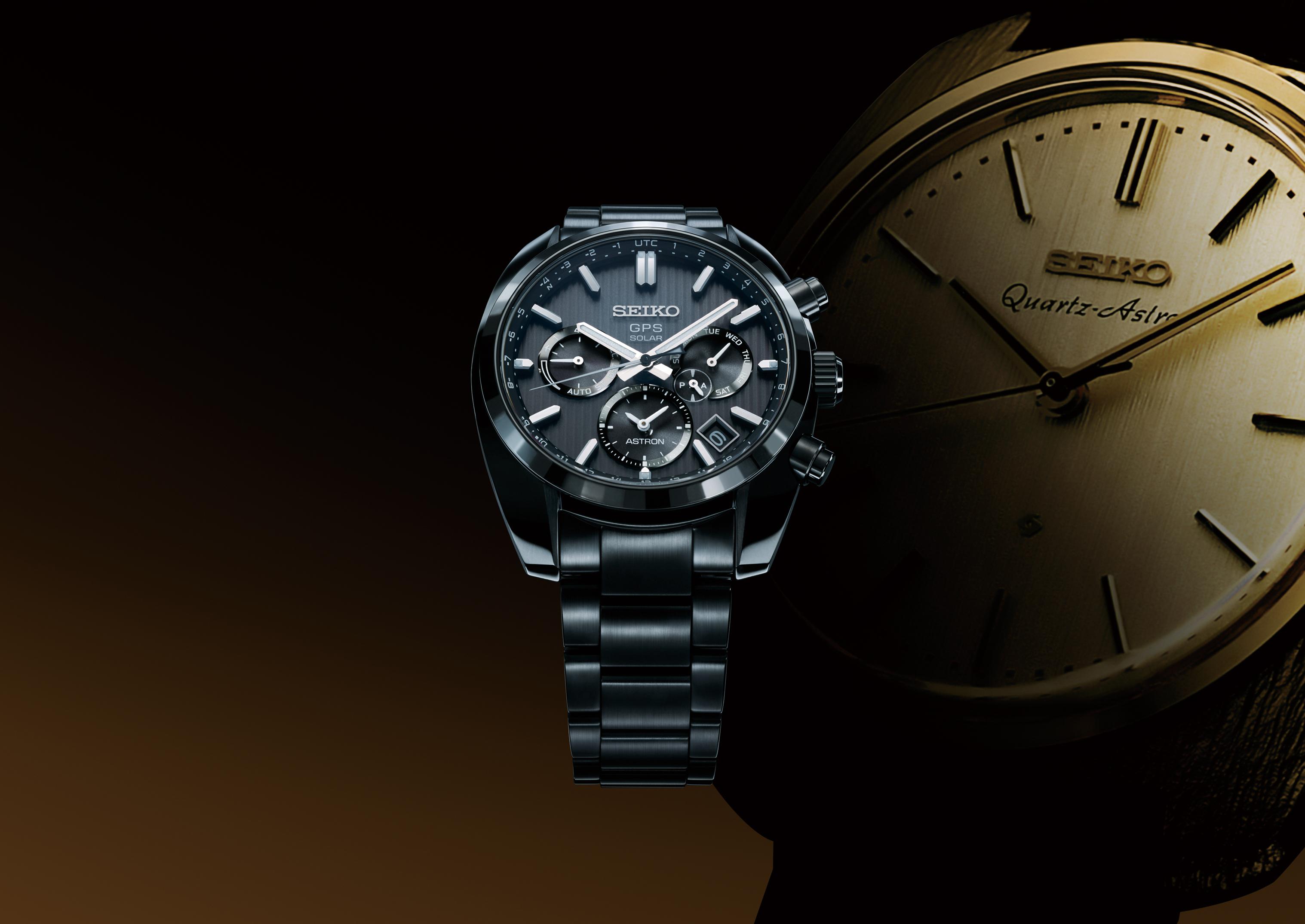 SEIKO 台灣精工 5X53 雙時區 鈦金屬錶款 SSH001J1