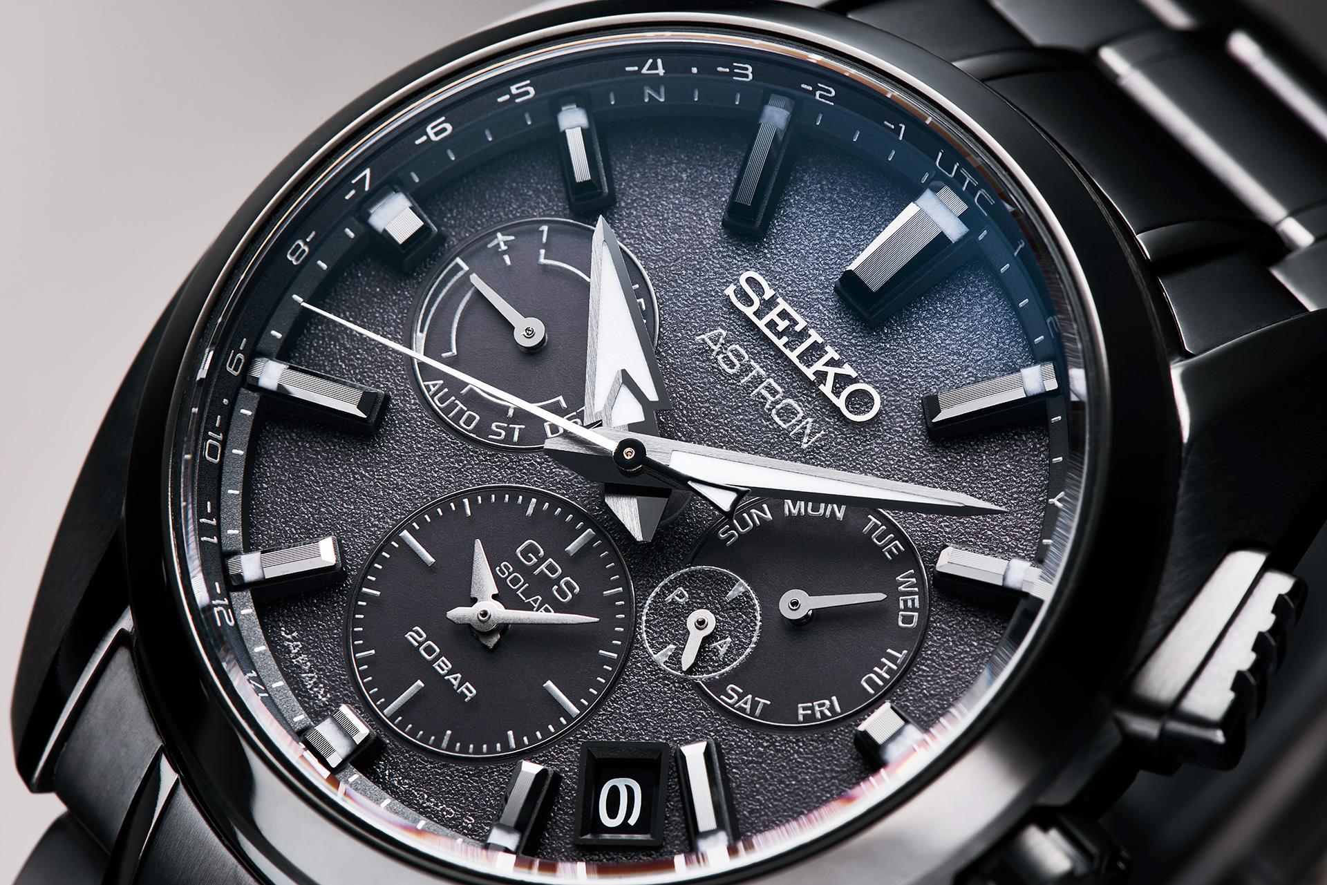 SEIKO, 台灣精工 5X53 雙時區 鈦金屬錶款, SSH069J1