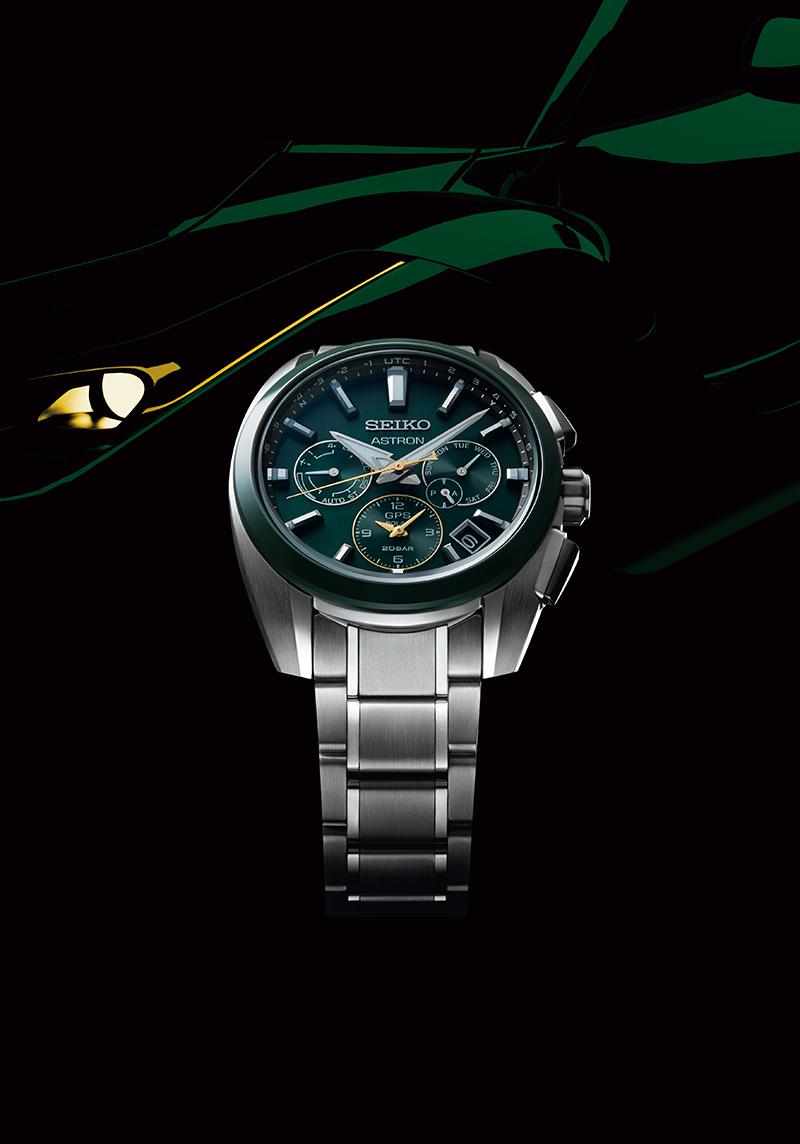 SEIKO, 台灣精工 5X53 雙時區 鈦金屬錶款, SSH071J1